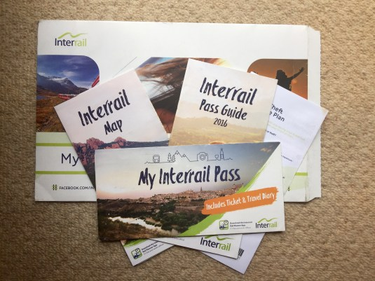 Interrail Pass: Everything included when buying