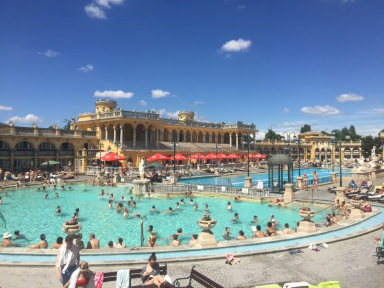 Budapest: Széchenyi thermal bath