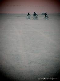 Sunrise bikers