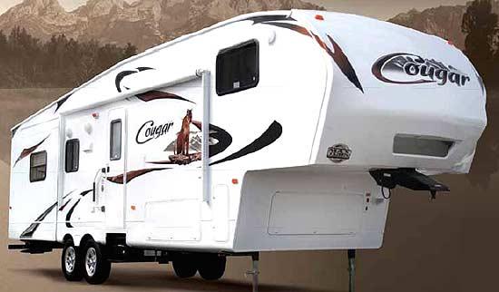 2011 Keystone Cougar Fifth Wheel