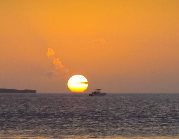 Backwards Sunset
