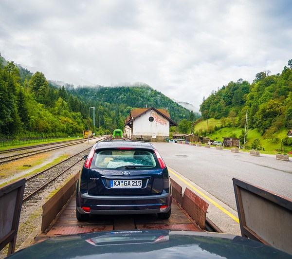 Slovenian Car Train