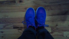 My Blue Sneakers