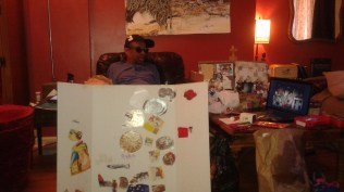 Stephen & his Art Collage