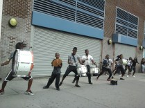 Athletic Musicians & Dancers in Harlem