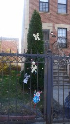 Christmas gate Brooklyn