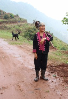 Hmong Hill Tribe woman