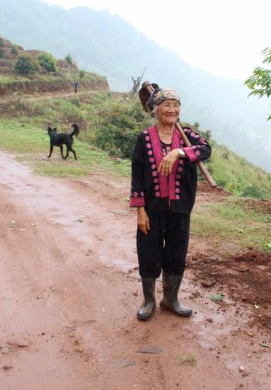 Hmong Hill Tribe woman