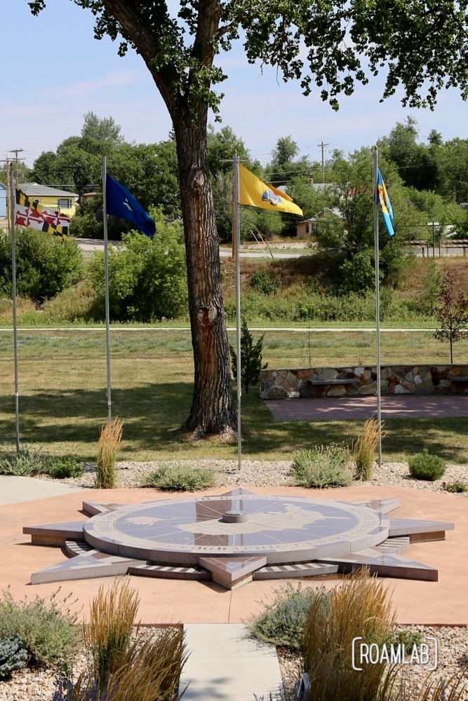 Geographic Center of the Nation in Belle Fourche, South Dakota.