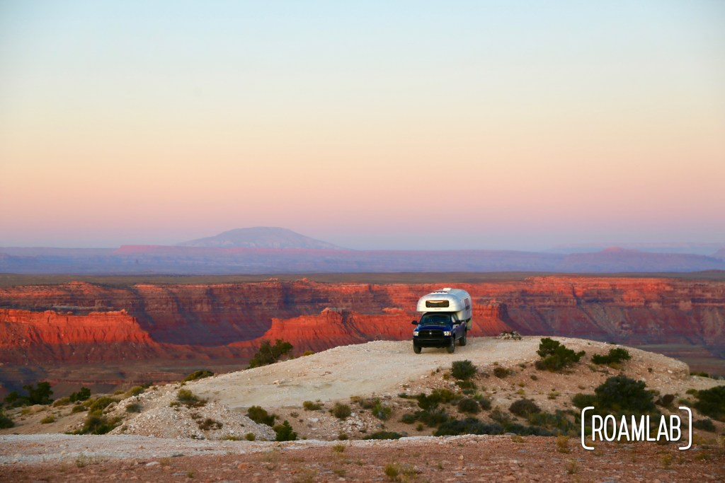 Muley Point is a mecca for boondockers, overlanders, and outdoor adventurers, hovering over the Glen Canyon National Recreation Area in Southern Utah.