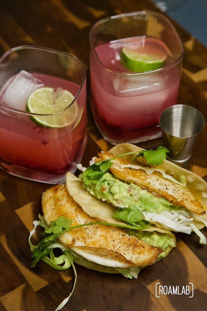Grab your favorite bottle of tequila, orange liqure, and lime! It's time for our favorite Pomegranate Margarita recipe.