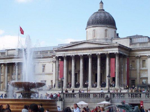 6. National Gallery. The gallery in Trafalgar Square is home to hundreds of the world's most famous paintings, from Di Vinci to Van Gogh. All the portraits worth seeing are housed in this building. Even better, they're all public property. Translation: free!