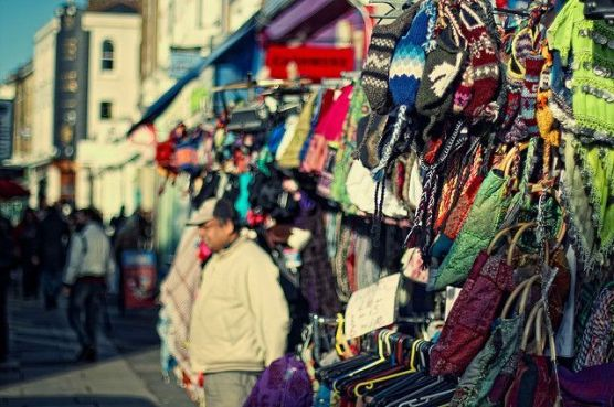 7. Portobello Road Market. The famous market in Notting hill is a mile-long street selling something different every day. It's the perfect place to go for bargain prices and with cafes and pubs lined up you can put those shopping bags down and relax.