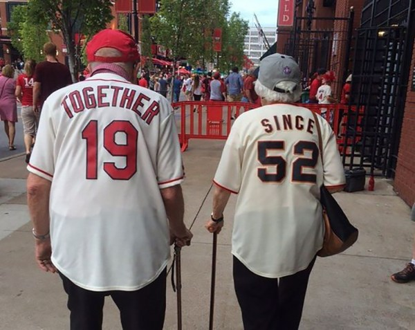 Baseball-loving couple has been together for 60 years ...