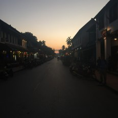 """The main """"drag"""" of Luang Prabang."""