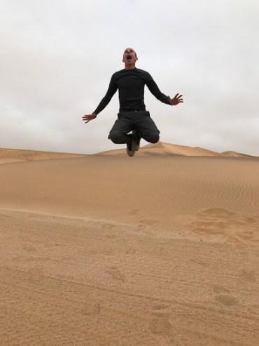 Such great desert heights.
