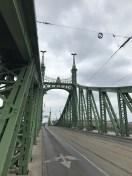 Walking across the Danube!