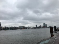 View along the Elbe.