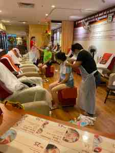 Thai massage to rejuvenate and recharge mind and body