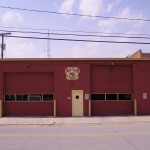 A photo of the Roanoke, Indiana fire station.