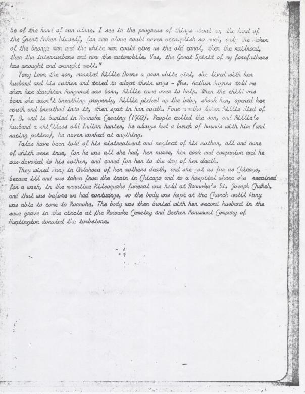 Redding account of Kilsoquah page 3