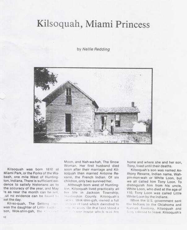 Redding account of Kilsoquah page 4
