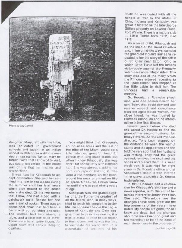 Redding account of Kilsoquah page 6