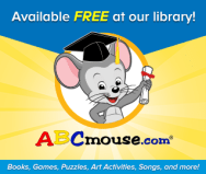 Available Free at our library! ABCmouse.com-books, games, puzzles, art activites, songs and more.