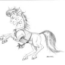 Shore Leave pony merchant marine by Baron Engel