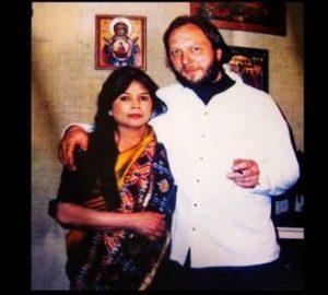 নভেরা ও তাঁর স্বামী গ্রেগরি দ্য ব্রুহন, উৎসঃ www.bdnews24.com