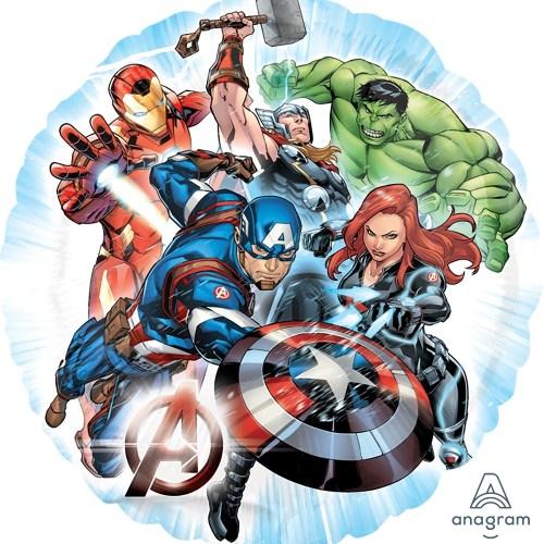 """18"""" Avengers Round Balloon"""