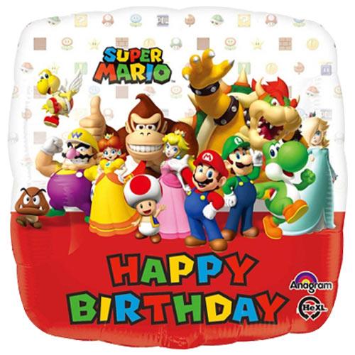 """18"""" Super Mario Balloon"""