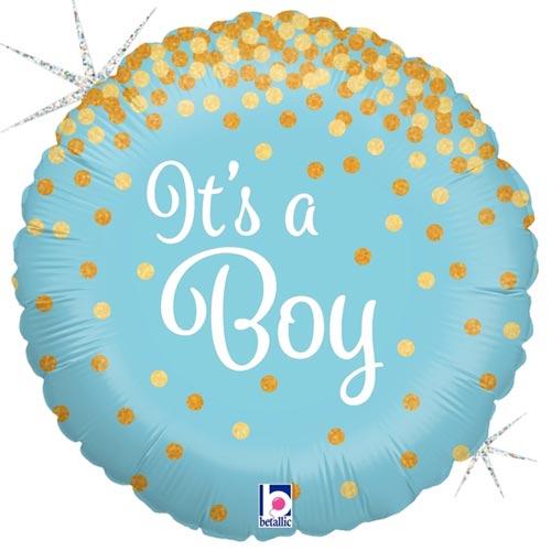 18 Inch Glittering It's a Boy