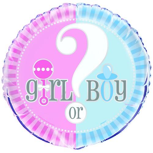 18 Inch Girl or Boy Balloon