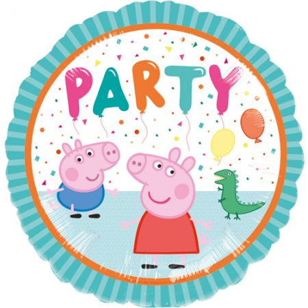 """18"""" Peppa Pig Party Balloon"""