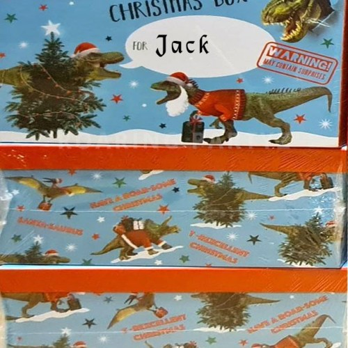 T-Rex Christmas Eve Box