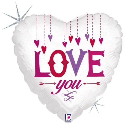 18 Inch Love You Balloon