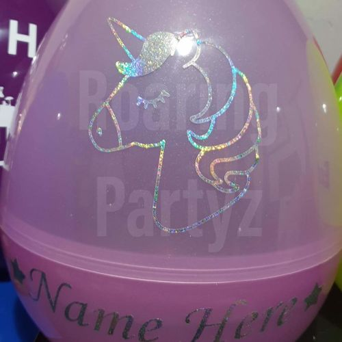 Giant Personalised Easter Egg