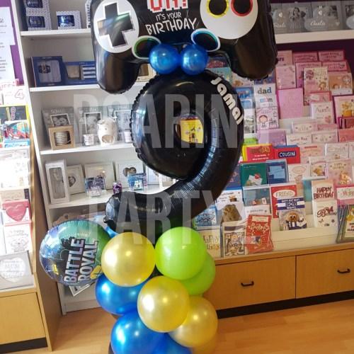 Personalised Gaming Tower Balloon
