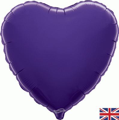 18 Inch Purple Heart