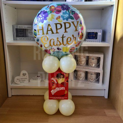 Balloon & Chocolate Egg Tower