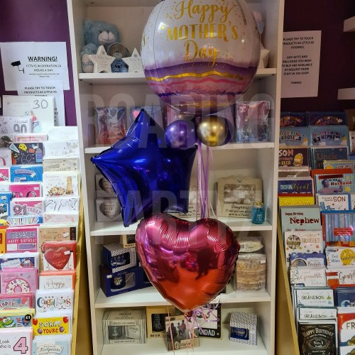 Mothers Day Orb Balloon Cluster