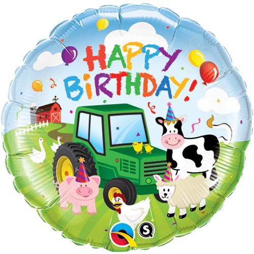 18 Inch Barnyard Birthday Balloon