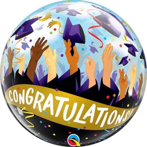 "22"" Congratulations Graduate Bubble Balloon"