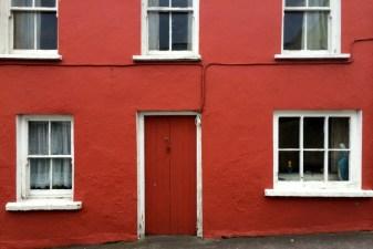 Eyries orange house