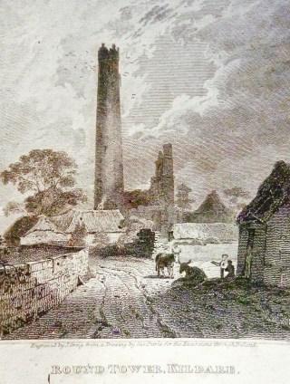 round tower engraving