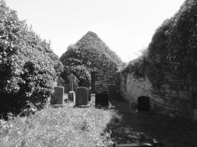 Kilcoe Medieval Church interior
