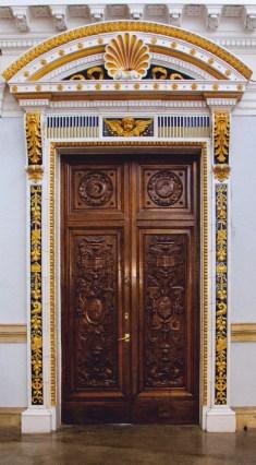 ceramic door