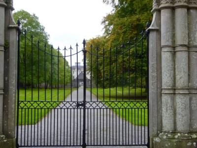 Portumna Castle, entrance