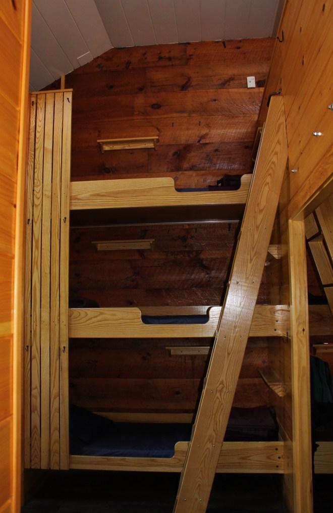 Zealand huts comfy bunks